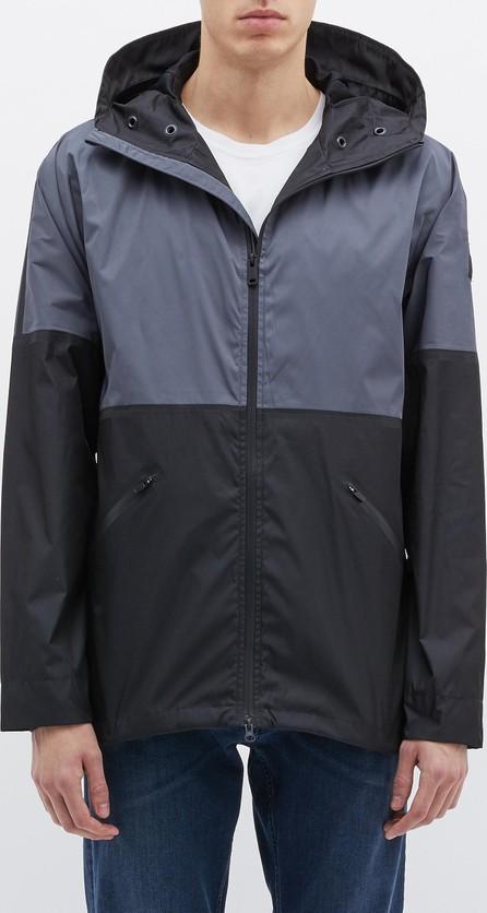 Denham 'Scarab' colourblock hooded windbreaker jacket
