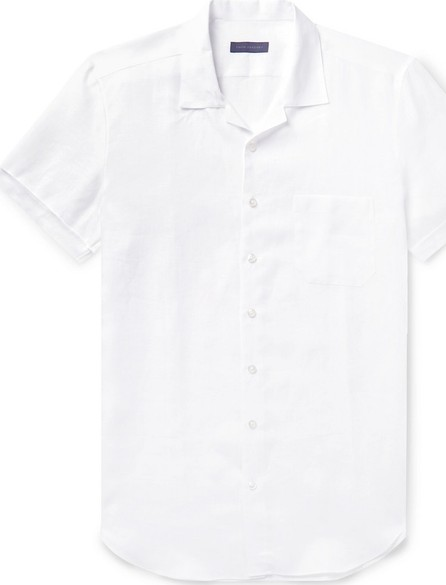 Thom Sweeney Slim-Fit Camp-Collar Linen Shirt