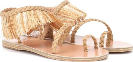Ancient Greek Sandals Manto raffia sandals