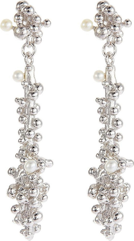 Belinda Chang 'Bubbling Sensations' freshwater pearl column earrings
