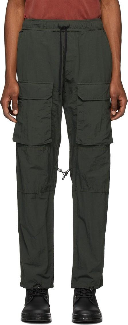 Reese Cooper Green Nylon Cargo Pants