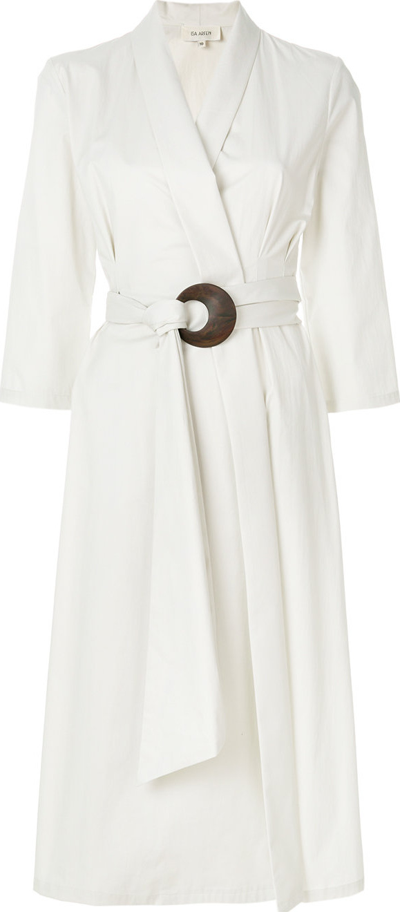 Isa Arfen - Wrap-around belted dress