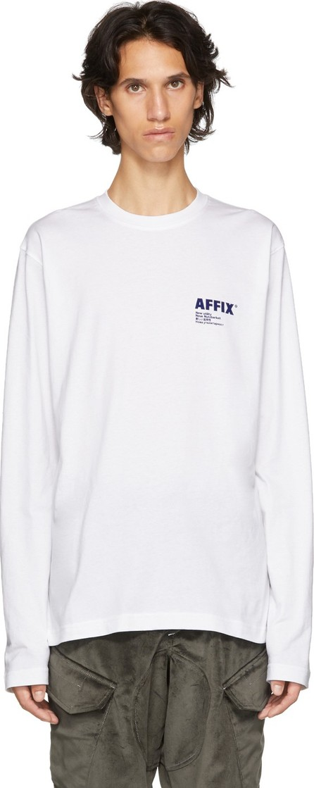 Affix White Logo Long Sleeve T-Shirt