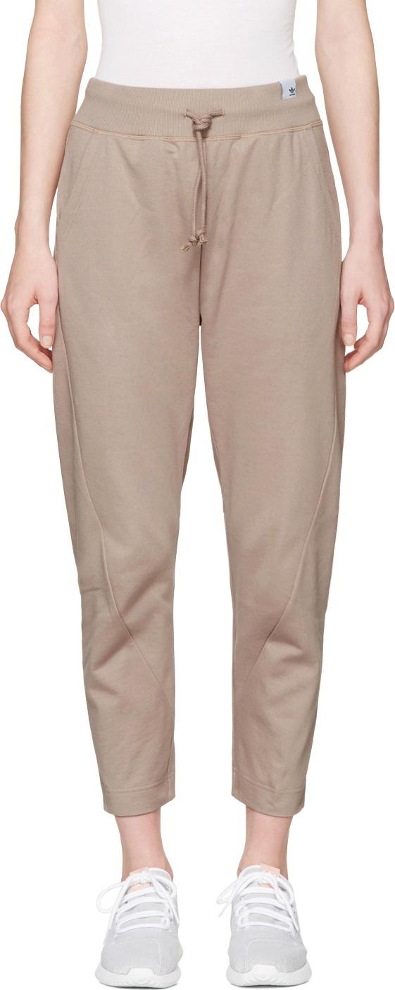 adidas Originals XBYO - Taupe Satomi Nakamura Edition Lounge Pants