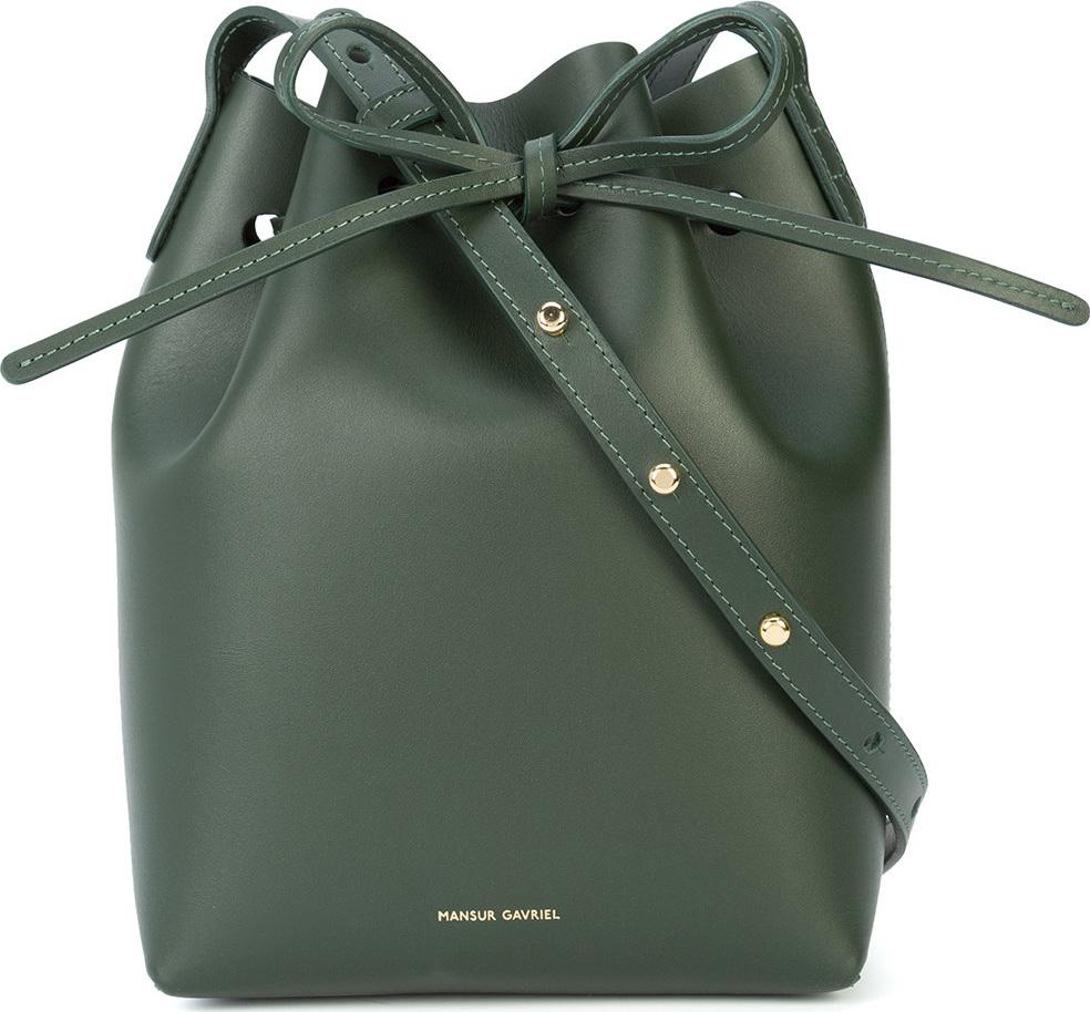 Mansur Gavriel - Mini bucket crossbody bag