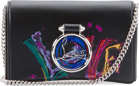 Christian Louboutin Ruby Lou Love Clutch Bag
