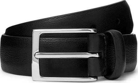 Anderson's 3cm Black Full-Grain Leather Belt