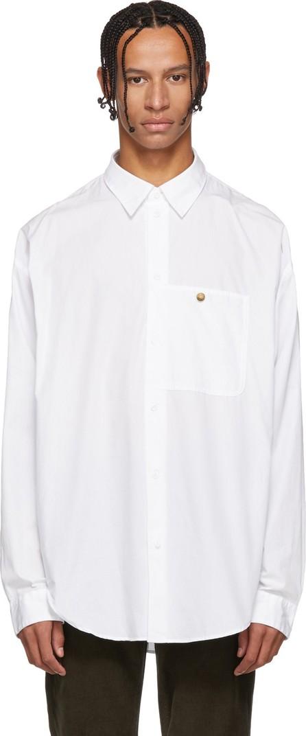 Acne Studios Blå Konst White Glanni Shirt