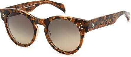 SALT. Wilcox Round Polarized Sunglasses