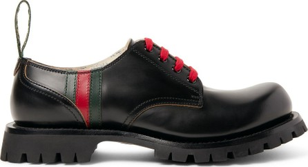 Gucci Arley Leather Derby Shoes