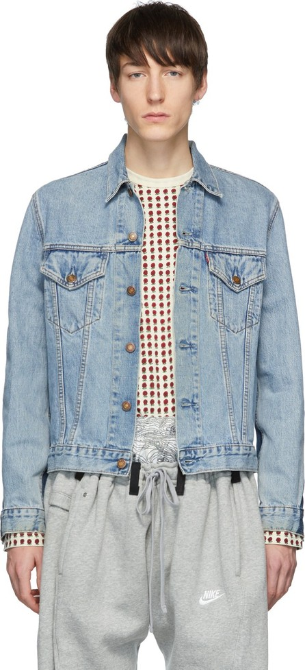 Bless Blue Maryam Nassir Zadeh Edition Denim Jeansjacket Jacket