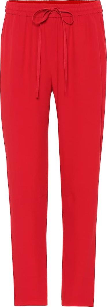 RED Valentino Crêpe slim pants