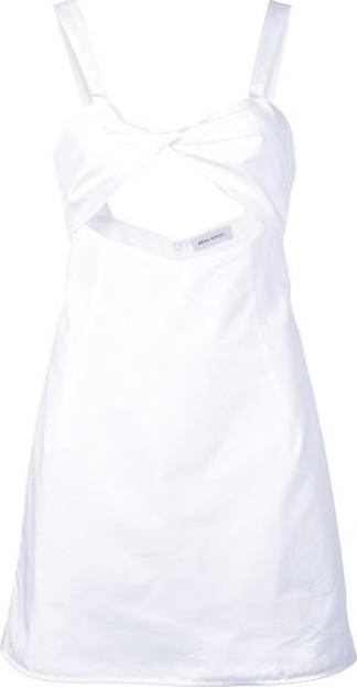 Beau Souci Blush Cutout Cotton Dress