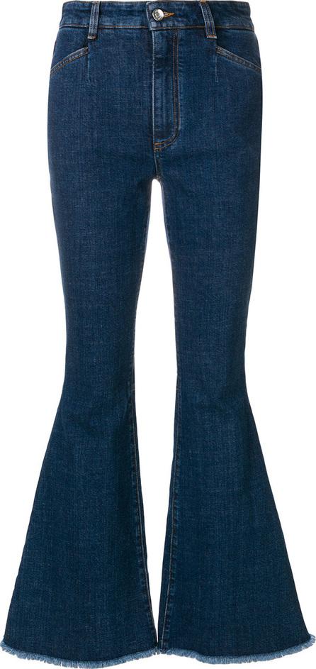 Dolce & Gabbana Flared heart motif jeans