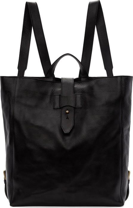 Officine Creative Black Rare Backpack