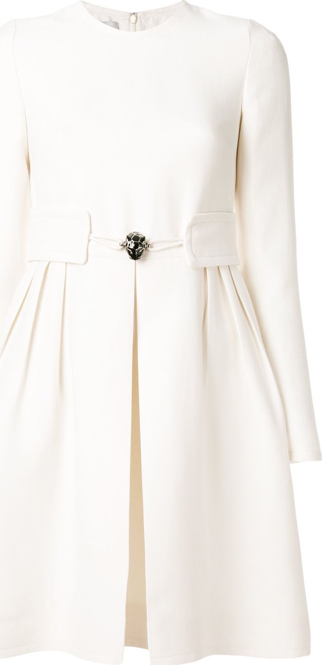 Valentino - belted mini dress