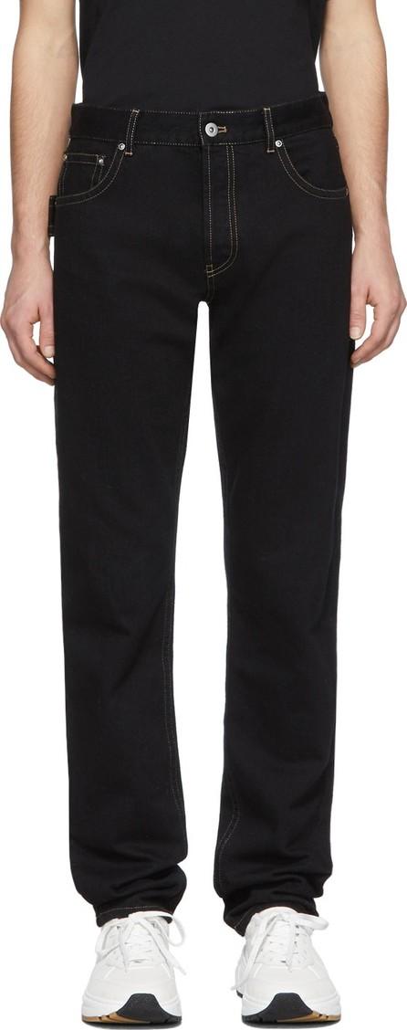 Bottega Veneta Black Japanese Denim Jeans