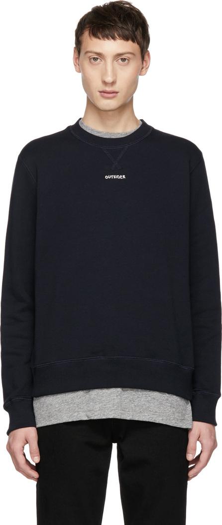 Band of Outsiders Navy 'Outsider' Sweatshirt