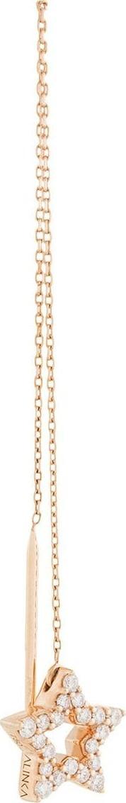 Alinka 18kt rose gold STASIA Thread diamond earring