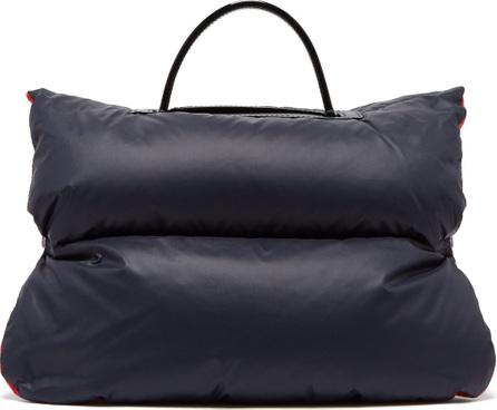 Valextra Reversible mini puffer bag jacket