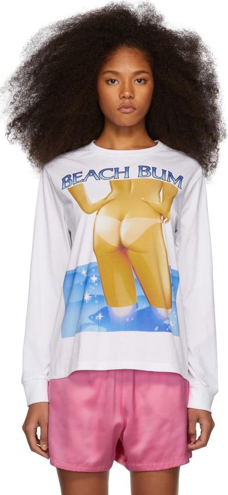 Ashley Williams White 'Beach Bum' T-Shirt