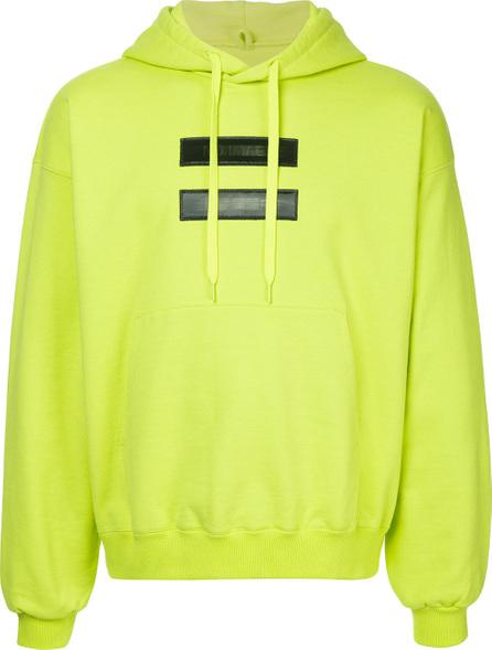 Doublet Front applique hoodie