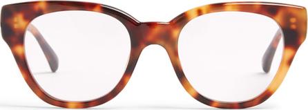 Linda Farrow Tortoiseshell D-frame acetate glasses