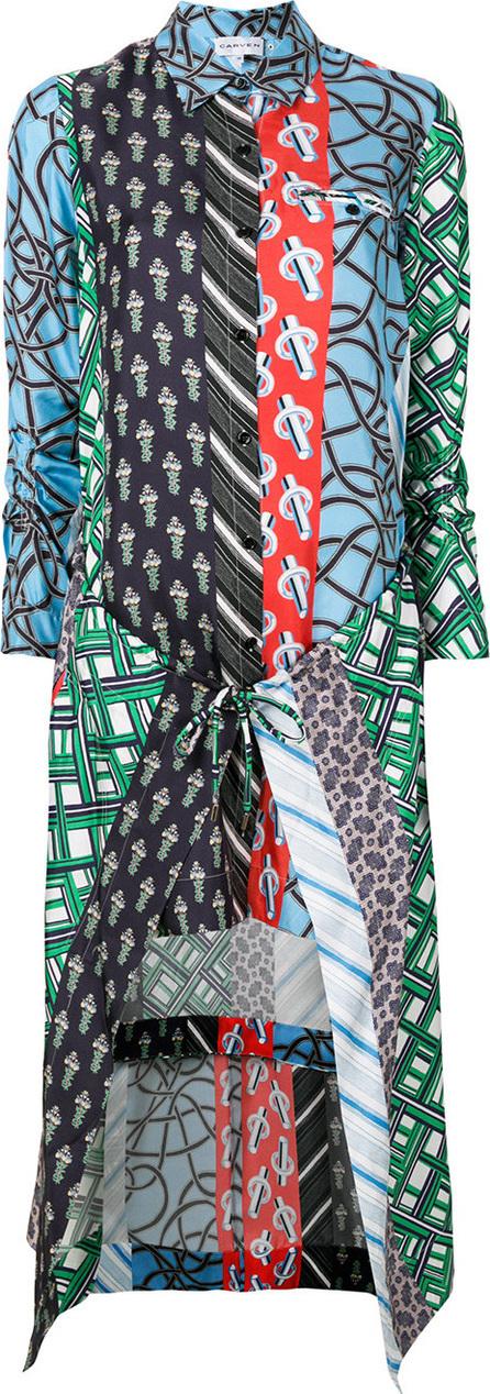 Carven Patchwork shirt dress