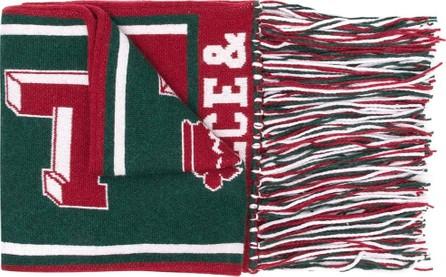 Dolce & Gabbana Sports motif scarf