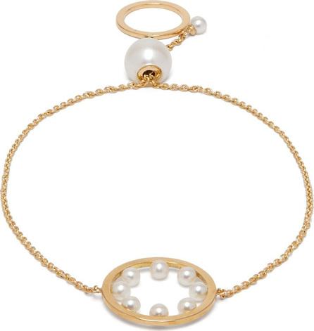 Delfina Delettrez Bubble pearl and 18kt gold bracelet