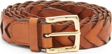 Etro Wrap leather belt