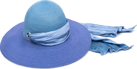 Eugenia Kim Honey Floppy Ombre Hemp Sun Hat with Satin Band