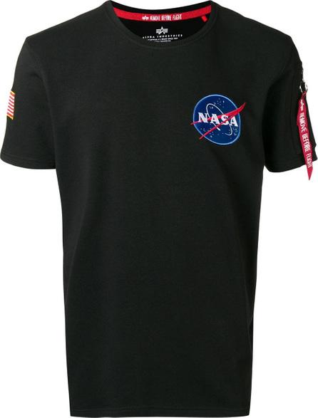 Alpha Industries Astronaut badge T-shirt