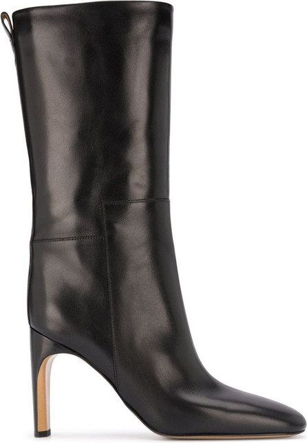 Jil Sander Block-heel pull-on boots