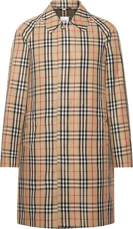 Burberry London England Checked Nylon Coat