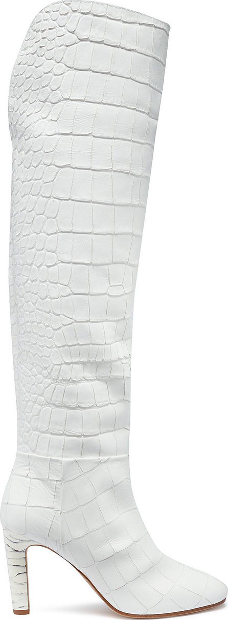 Gabriela Hearst 'Linda' croc embossed leather knee high boots