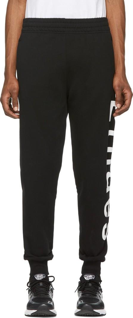 Etudes Black Tempera Logo Lounge Pants