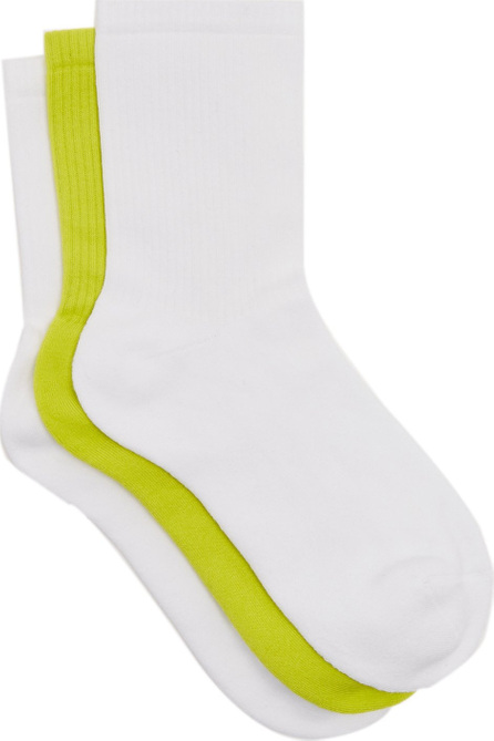 Raey Set of three cotton-blend socks