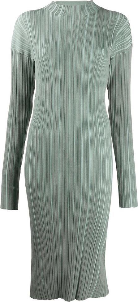 Acne Studios Ribbed long-sleeve midi dress