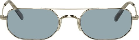 Oliver Peoples Blue Indio Sunglasses