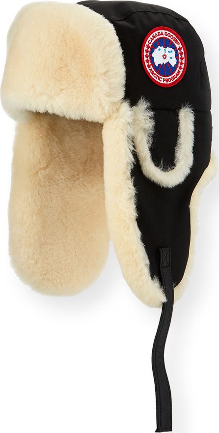 Canada Goose Aviator Hat with Shearling