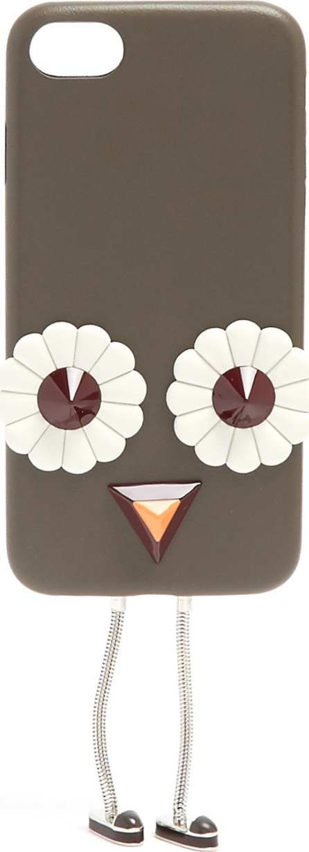 Fendi Blossom-embellished leather iPhone® 7 case
