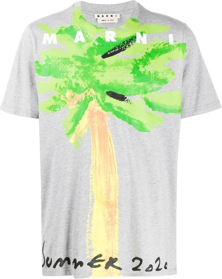 Marni Palm tree print T-shirt