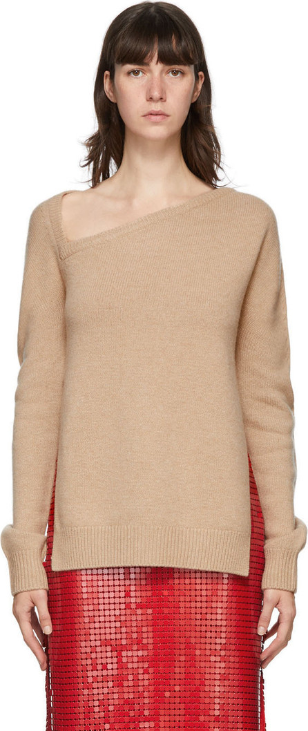 Christopher Kane Beige Wool & Cashmere Sweater