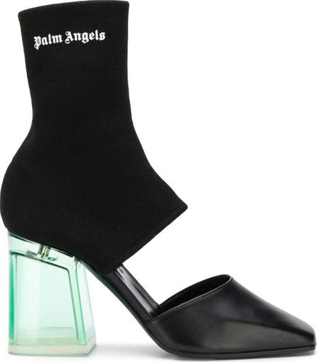 Palm Angels Sock-fit heeled pumps