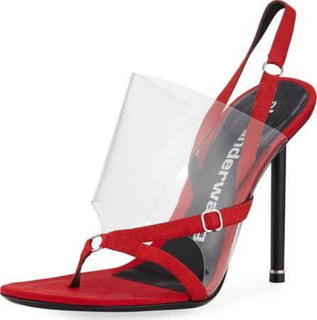 Alexander Wang Kaia Slingback Transparent Sandals