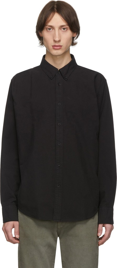 Rag & Bone Black 2 Tomlin Oxford Shirt