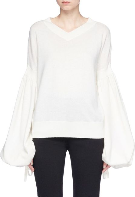 Zimmermann 'Maples' balloon sleeve wool-cashmere sweater