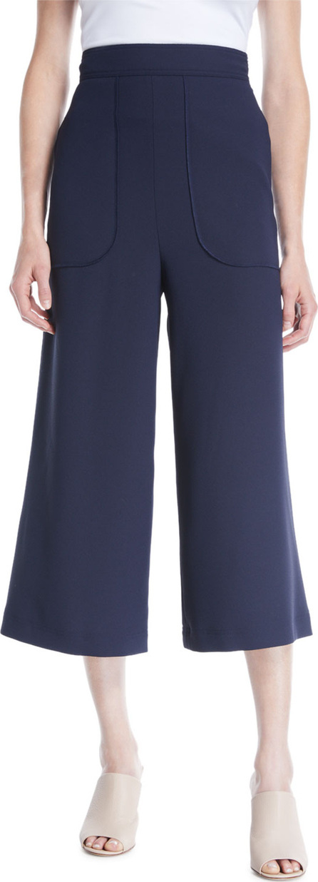 See By Chloé Cropped Wide-Leg Pants