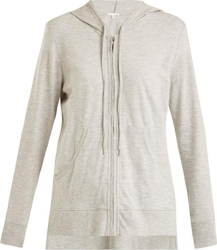 SKIN Faeylin stretch-cotton hooded sweatshirt